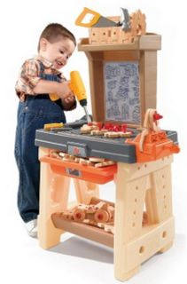New Kids 65 Piece Toy Workbench Work Bench with Building Tools