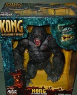 King Kong Mezco MISB 15 Open Mouth Action Figure Roaring Gorilla