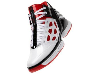 Adidas AS SMU adiZero Rose 2 White Red Black G21027 Basketball Shoes