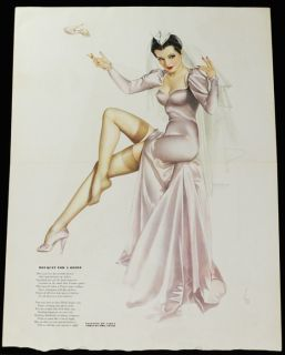 35 Alberto Vargas Varga Girl Art Deco Flapper Pin Up Calendar Sample