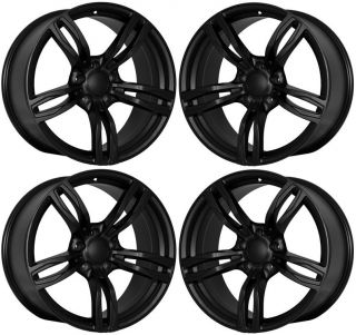 19 Wheels for BMW E90 E92 E93 328 330 335 M Style Matte Black Rims