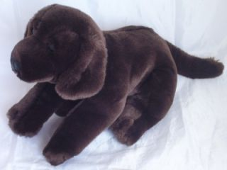 Animal Alley Chocolate Brown Labrador Retriever Puppy Dog Bean Plush
