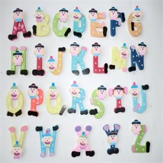 Wooden Alphabet Fridge Magnet Child Educational Toy 2DESIGN