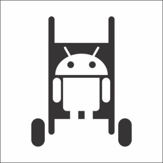 Android Family Computer Car Decal Vinyl Family Stick