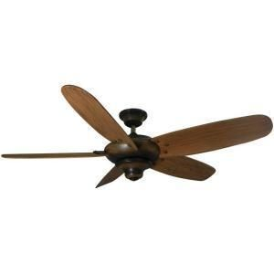 Hampton Bay Altura 56 in Gilded Espresso Ceiling Fan 672 066