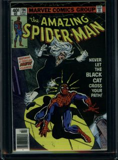AMAZING SPIDER MAN #194 1ST APP BLACK CAT CGC 9.8