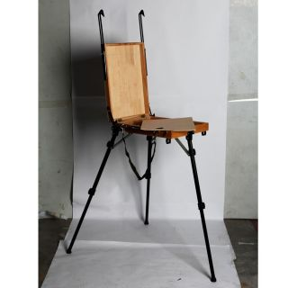 Portable Aluminum Tripod Foldable Artist Easel Sketch Box Oil Painting