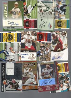 GU PATCH JERSEY AUTO RC LOT ROOKIE 1/1 ANDREW LUCK TRENT RICHARDSON