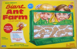 Original Giant Ant Farm by Uncle Milton Live Habitat Ants by Mail Age
