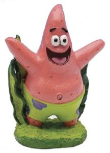 spongebob squarepants aquarium ornament mini patrick