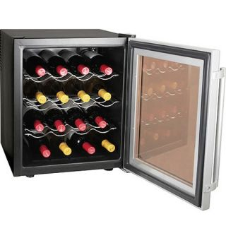 Culinair AW 160S Wine Cooler Refrigerator   16 Bottle Platinum Fridge