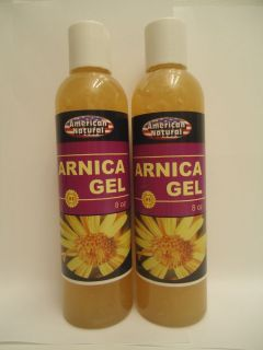 ARNICA MONTANA GEL CREAM 8 Oz PAIN RELIEF BRUISES MUSCLE ACHES NATURAL