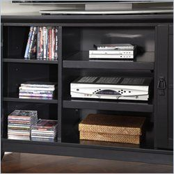 Home Styles Arts & Crafts Corner Entertainment Black TV Stand