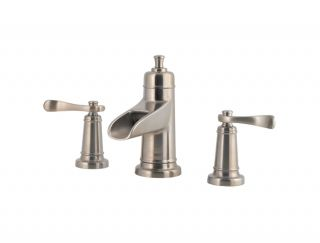 Price Pfister Ashfield Bathroom Faucet F 049 YW1K Brushed Nickel New