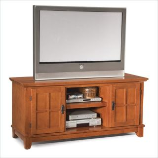 Home Styles Arts Crafts Entertainment Console Cottage Oak TV Stand