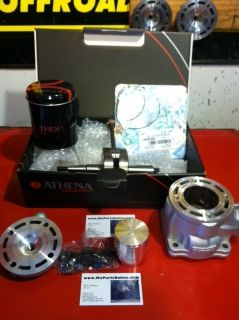 YZ85 112cc 53mm Athena Big Bore Stroker Cylinder Kit Piston Gaskets YZ