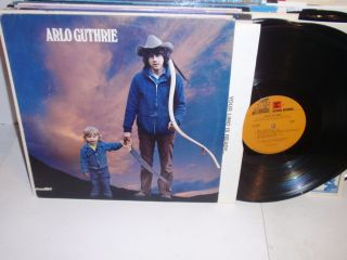 Arlo Guthrie Self Titled s T LP Reprise MS 2183 Folk Vinyl Record
