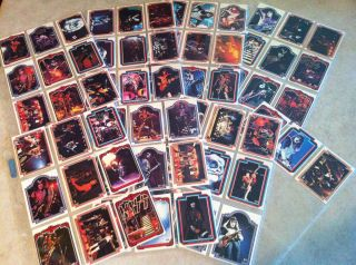 Kiss Vintage Aucoin Donruss Trading Cards 1978 1st Series COMPLETE SET