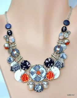 Breathtaking New AYALA BAR NOCTURNAL SEAS Hip Necklace Fall 2011