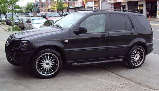 Avarus AV1 20 Black Rims Wheels Chrysler Pacifica