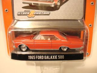 1965 Ford Galaxie 500 Red Muscle Car Garage Series 10 New