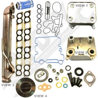 Ford 6 0L Diesel Engine Oil Cooler EGR Cooler Kit with Gaskets