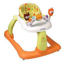 Baby Toddler Activity Learn Behind Push Sit Walker Safe Seat Play