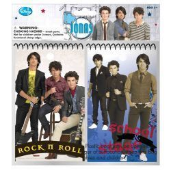 Disney Jonas Brother 2 PK Memo Pad 14 PC Party Pack