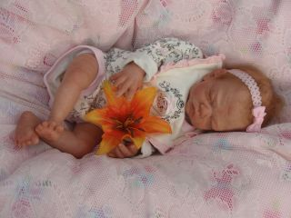 Newborn/Preemie Baby Girl Doll   Bailee by Sherry Bowden (Low Reserve