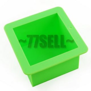 High Quallity Silicone Square Cake Pan Mold Soap Mould Bakeware