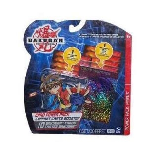 Bakugan Battle Brawlers Card Power Pack Pyrus New Toys And Games