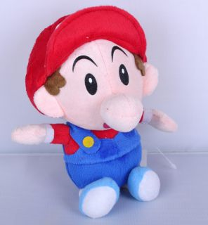 Super Mario Brothers 7 inch Plush Toy Baby Mario Stuffed TW1455