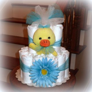 Daisy Duck* Diaper Cake Baby Shower Centerpiece Decorations Rubber
