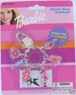 Barbie Mini Charm Keychain Key Mini Basic Fun Doll