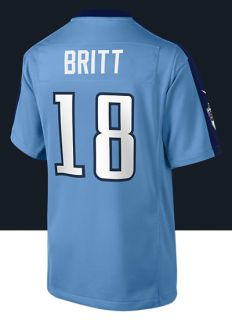 NFL Tennessee Titans (Kenny Britt) Kids Football Home