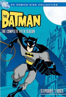 The Batman   The Complete Fifth Season DVD, 2008, 2 Disc Set