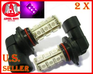 18 LED 5050 SMD 9005 HB3 Car Automotive Fog Light Lamp Bulb Pink