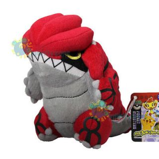 TAKARA TOMY Pokemon Pikachu 6 GROUDON Plush Toy Doll Figure Pokedoll