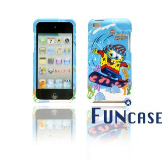 SpongeBob SquarePants iPod Touch 4 hard case with Faceplate snap on