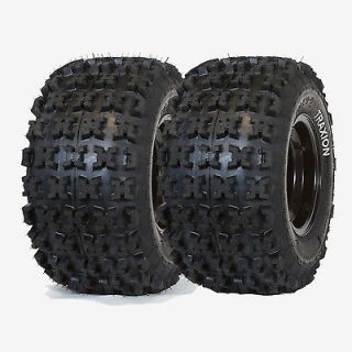 PAIR (2) TRAXION RACE X REAR TIRES 20x11 9 POLARIS PREDATOR OUTLAW 450