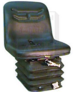 LONG TRACTOR SEAT WITH FULL MECHANICAL SUSPENSION