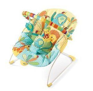bright starts sunnyside safari bouncer in Bouncers & Vibrating Chairs