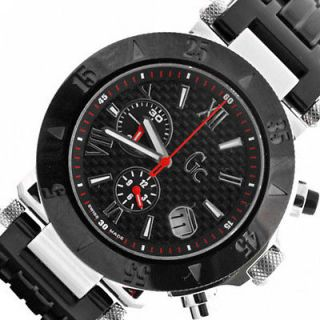 Mens New Analog Swiss Made GUESS Collection GC Chronograph Watch