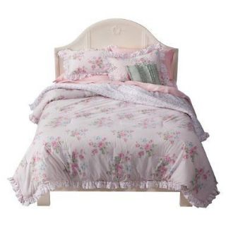 simply shabby chic pink misty rose king comforter set time