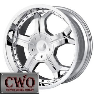 Newly listed 17 Chrome ION 191 Wheels Rims 5x139.7 5 Lug Dodge Ram