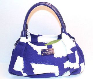 KATE SPADE Art Noir Small Karen. Royal Blue. PXRU3693. Retail $298