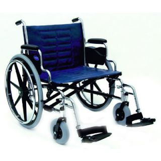 heavy duty wide 20 bariatric wheelchair 350 capacity time left