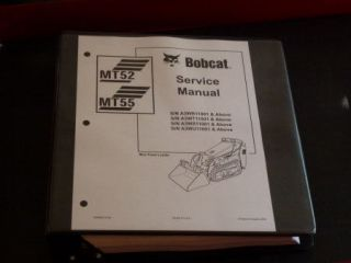 Bobcat MT52, MT55 Bobcat Mini Track Loader Service Manual, 6986859 (2