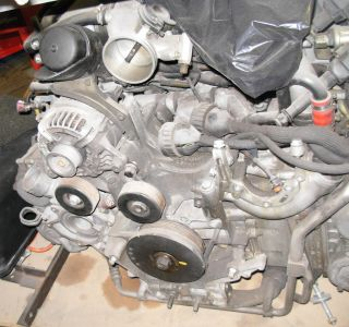 2002 porsche 996 gt3 cup spare engine motor time left