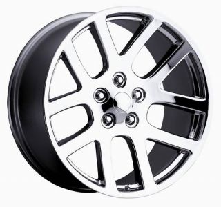 22 SRT10 02 08 SRT10 Dodge RAM Chrome Wheel Rim Tire